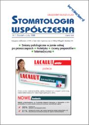 Stomatologia Współczesna nr 1/2008