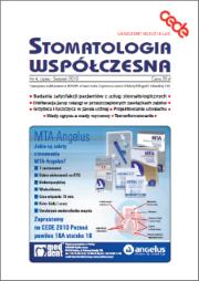 Stomatologia Współczesna nr 4/2010